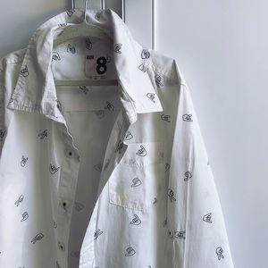 Hang Loose Dress Shirt 8 Youth